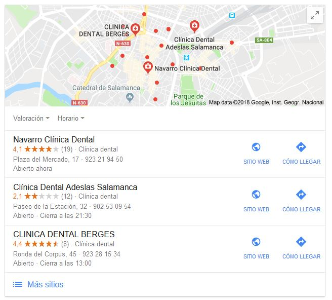 resultados seo local
